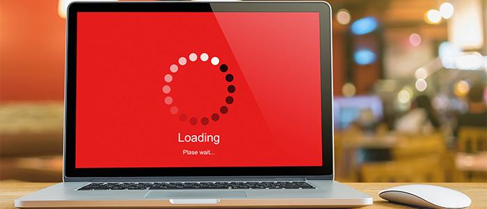 slow website loading problem
