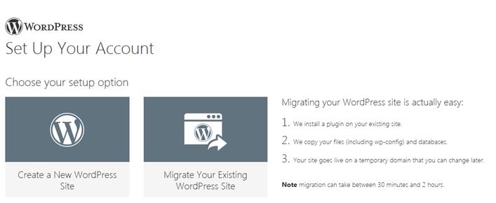 website migrate
