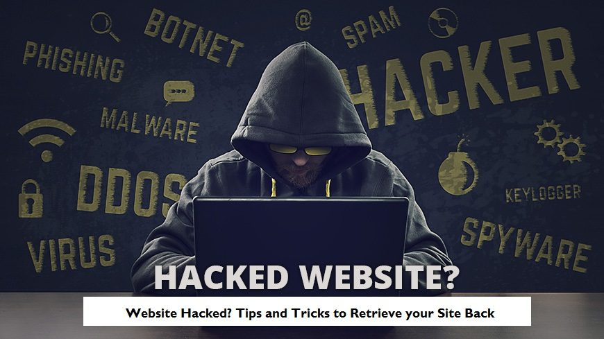 website hacked