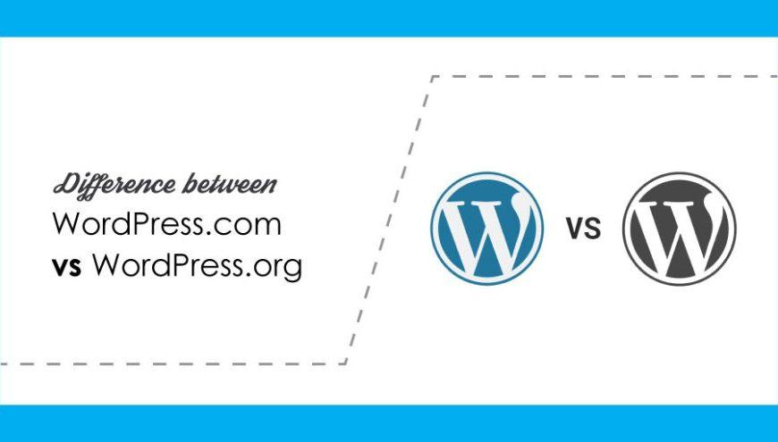 wordpress.com & wordpress.org
