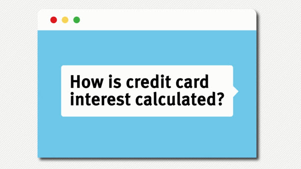 how does interest of a credit card work and how apr is