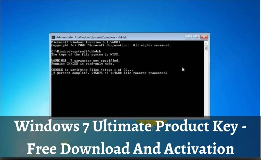 Know More On Windows 7 Ultimate Product Key For 32-Bit/64-Bit